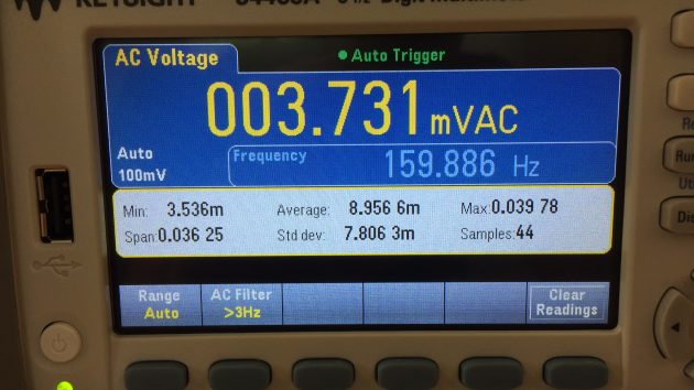 Digitale Voltmeter 6,5 digits van Keysight