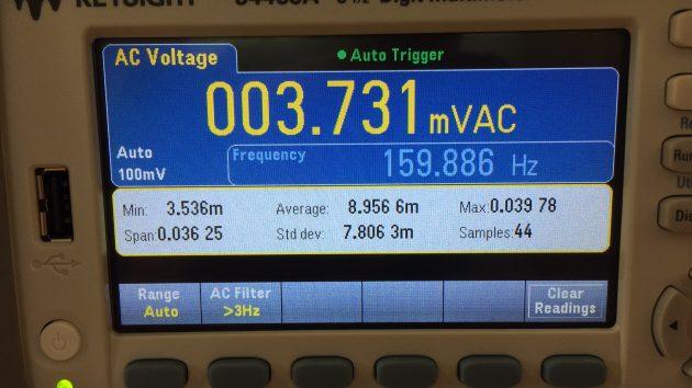 Digitale Voltmeter 6,5 digits van Keysight