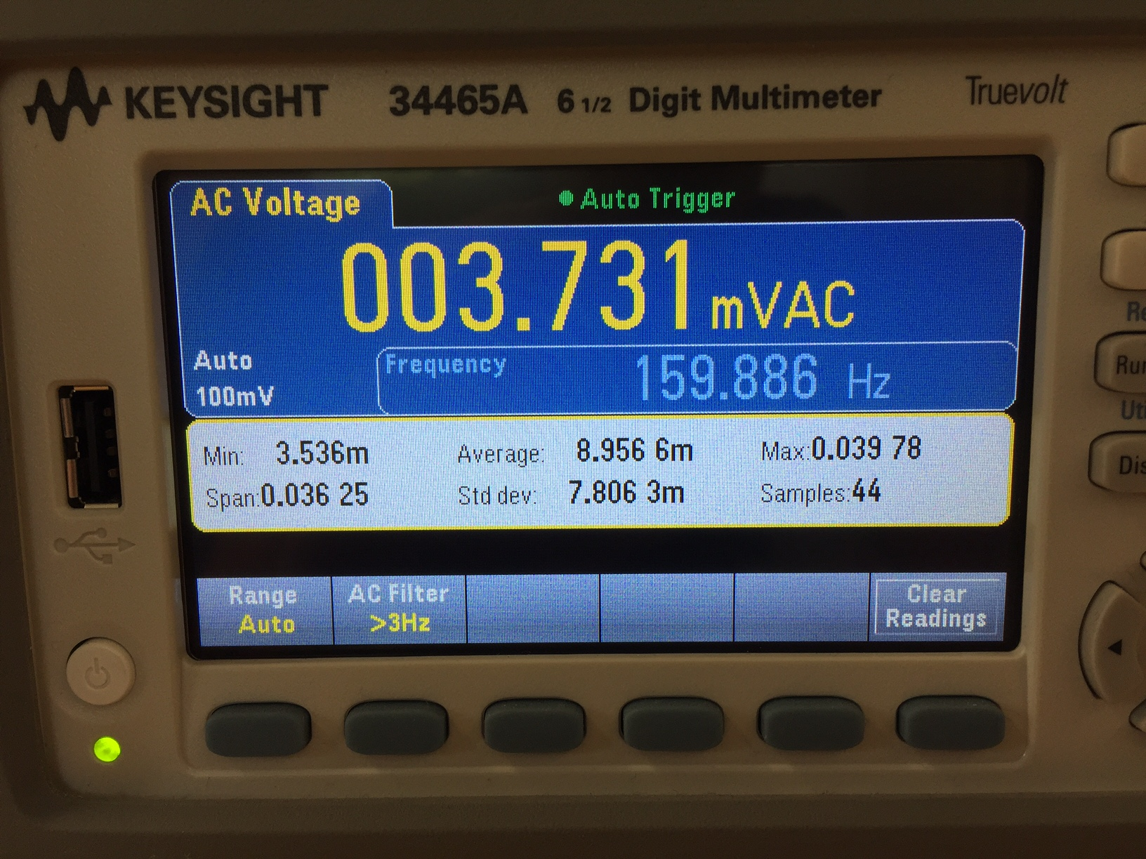 Digitale voltmeter van Keysight 6,5 digits