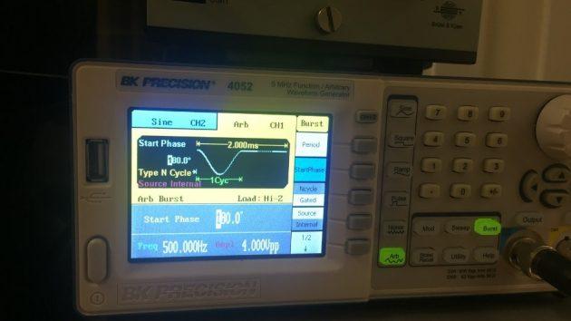 Functie Generator Halve Sinus