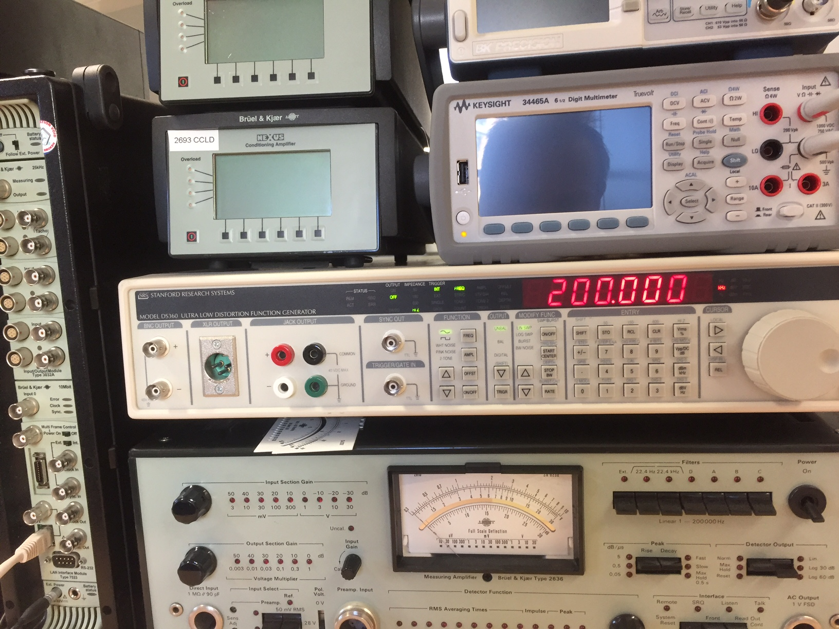 Ultra Low Distortion Audio Generator